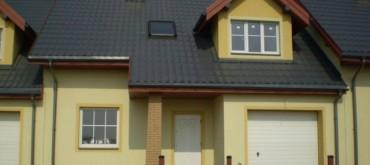 Domy w zabudowie szeregowej w Kalinowicach koło Zamościa - Rozmus Nieruchomości Zamość