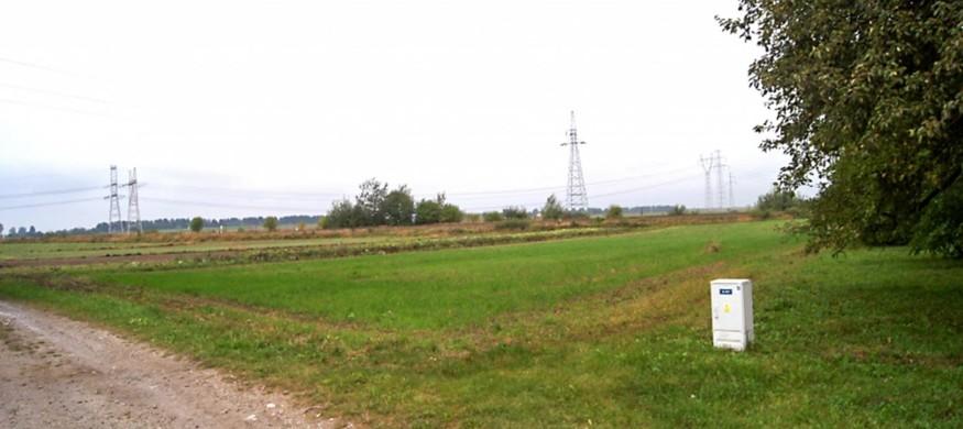 Duża działka rolna z warunkami zabudowy - Siedliska, gmina Zamość-SPRZEDANE