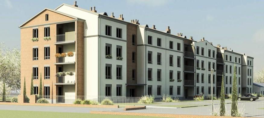 Mieszkanie nr 13 na sprzedaż - nowe osiedle Koszary 65 - Rozmus Nieruchomości-SPZREDANE